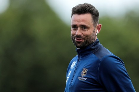 Damien Delaney joined Waterford in January.