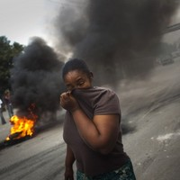 Haitian protests blame UN peacekeepers for cholera