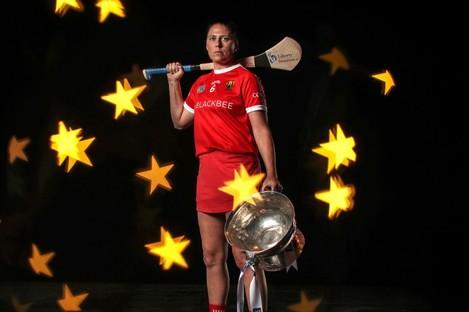 Cork captain Gemma O'Connor.