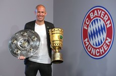 Dutch legend Robben announces his retirement at age of 35