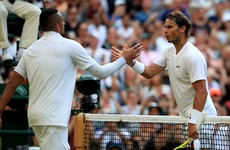 'Why would I apologise?' - Kyrgios admits he deliberately hit Nadal with ball