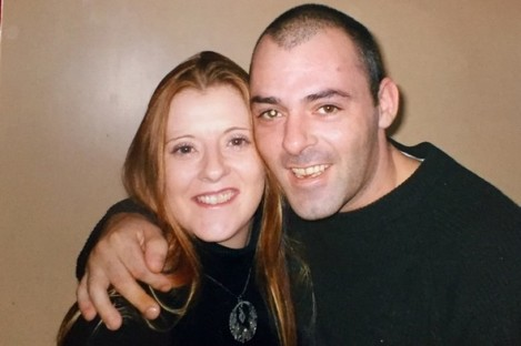 Ann-Marie O'Brien with her brother John.