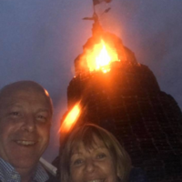 DUP defends councillors who posed in front of tricolour-burning bonfire