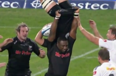 VIDEO: Is it any wonder that Tendai Mtawarira is nicknamed 'The Beast'?
