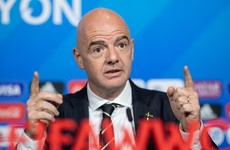 Fifa president Infantino seeking to expand women's World Cup
