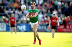 Keegan out but Aidan O'Shea named to start for Mayo against Galway