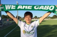 Japanese forward Sasaki makes instant impact with winner for Cabinteely against Bray