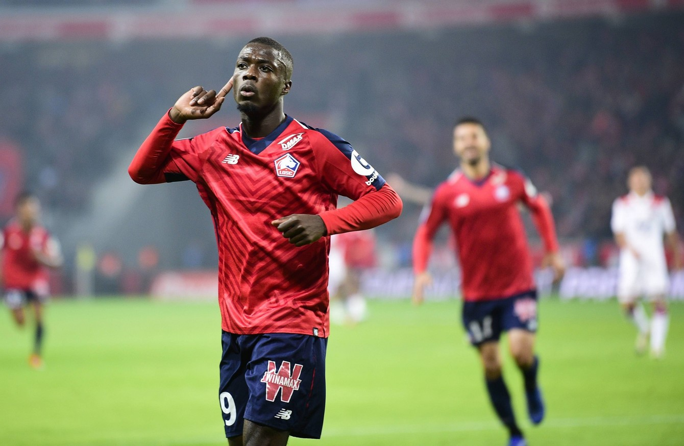 liverpool hold talks with lille striker who scored 23. Black Bedroom Furniture Sets. Home Design Ideas