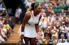 Serena cruises into Wimbledon last 16 but fears 'performance anxiety' as she teams up with Murray