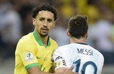 Marking Messi with diarrhoea 'very complicated', says Brazil defender Marquinhos
