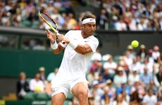 Irresistible Nadal outclasses Tsonga for speedy Wimbledon progress