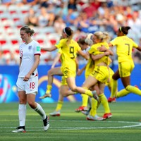 England's World Cup campaign ends in heartbreak as Sweden win third place play-off