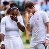 Wimbledon greats Serena and Murray thrill in mixed doubles opener