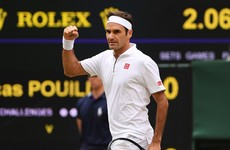 Federer hits slam landmark as he cruises into last 16 while Nadal urges patience for challengers