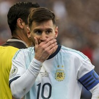 Messi slams 'corruption' in South American football after being sent off in Copa America