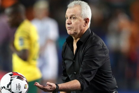 Egypt manager Javier Aguirre left on Saturday night.
