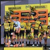Dutch rider Teunissen stays in yellow as Jumbo-Visma storm to Tour de France time trial victory