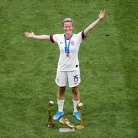 Rapinoe wins World Cup Golden Ball and Golden Boot