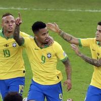 10-man Brazil triumph in Copa America final to end 12-year trophy wait