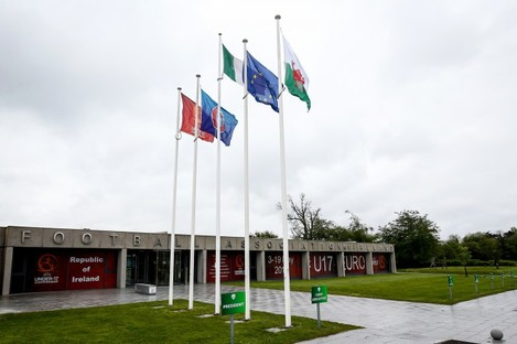 A view of FAI HQ in Abbotstown.