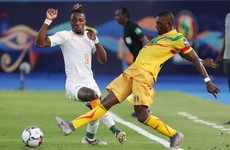 Zaha goal takes Ivory Coast through to quarter-finals of African Cup of Nations