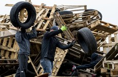 Loyalist bonfire organisers rebuild 11 July sites after council crackdown on hazardous materials