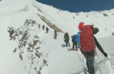 Footage recovered during search operation shows Himalayan climbers' final moments
