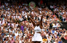 Williams has Court's record in sight as she powers into Wimbledon semi-final