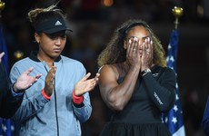 'I am so proud of you and I am truly sorry': Serena's apology to Osaka