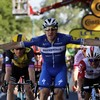 Viviani's need for speed too much for Tour rivals in Nancy