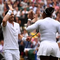 Andy Murray and Serena Williams through to Wimbledon last 16 with straight-set win