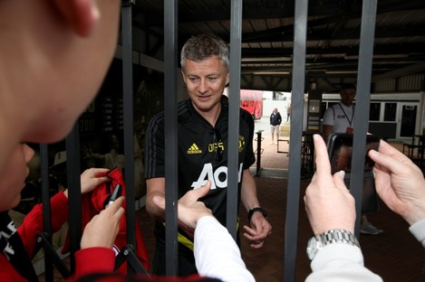 Solskjaer: United begin their pre-season tour on Saturday.