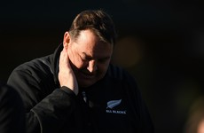 All Blacks coach Hansen rows back on domestic violence comments