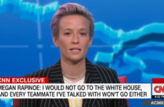 Megan Rapinoe uses primetime TV interview to deliver message directly to Trump