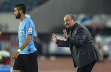 Benitez touched by 'kindness and respect' as he enjoys life after Newcastle