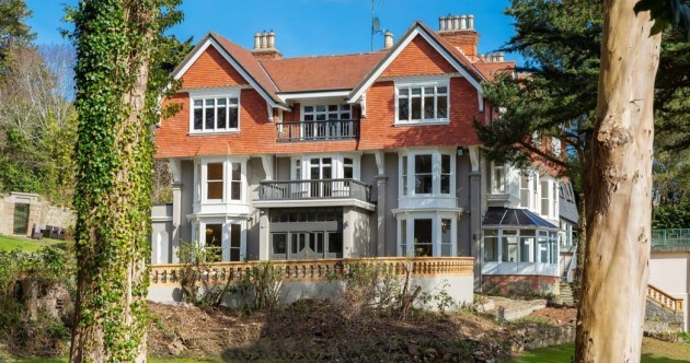 Sea views from this grand Victorian mansion on Killiney Hill - yours for €4.5m