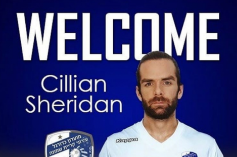 Sheridan in his new colours.