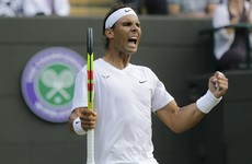 Nadal sets up Federer semi-final showdown after Querrey victory
