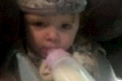 The funeral of the two-year-old child took place this morning.