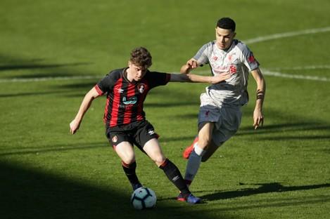 Kilkenny in action for Bournemouth U23s last season.