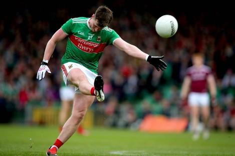 Mayo forward Cillian O'Connor.