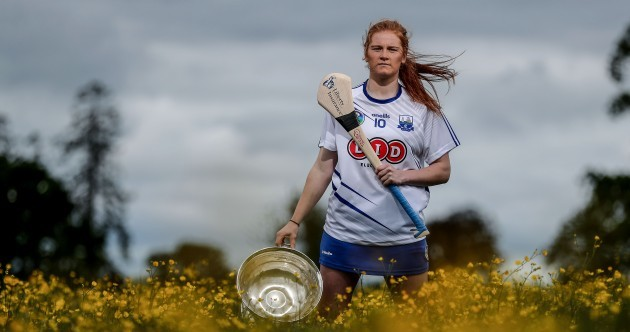 A first camogie All-Star for Waterford to cap an historic 2018, but bigger and better on the cards