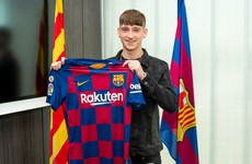 Barcelona sign former Ireland underage international from West Brom