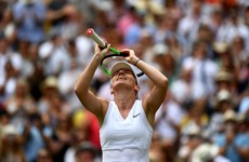 Halep becomes first Romanian woman to reach Wimbledon final