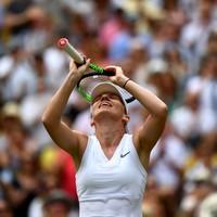 Halep becomes first Romanian woman to reach Wimbledon final