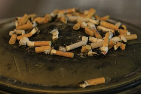 Cigarette related litter makes up over a half of all littering.