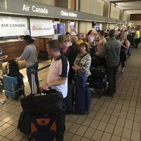'The plane just dropped': Dozens injured in turbulence on Air Canada flight