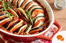 From the Garden: Some notes on immature onions and homemade ratatouille