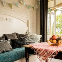 Sleep Here: Take the whole family glamping (without the tents) in this cosy Co Clare cabin