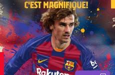 Barcelona complete €120m Griezmann transfer